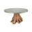 6117001ET Teak Root Dining Table In Euro Teak Oil Euro Teak Oil