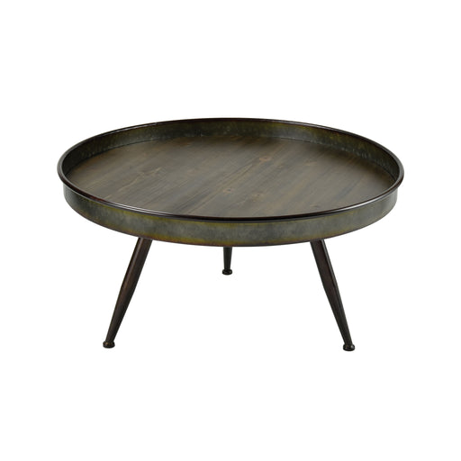 611735 Chamberlin Coffee Table Grey, Roast