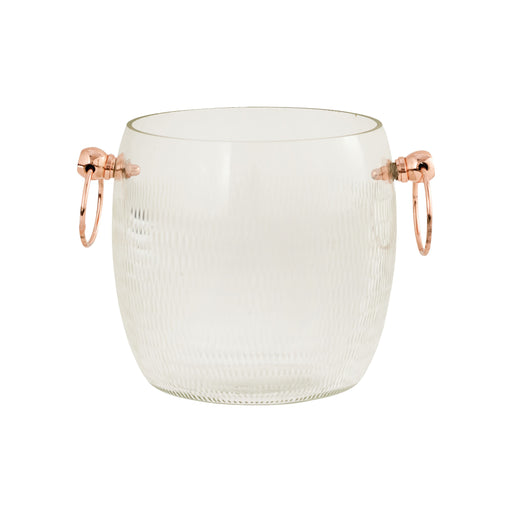 626869 Coppersmith Ice Bucket Small Clear, Copper