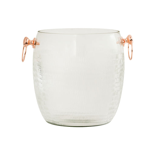 626876 Coppersmith Ice Bucket Large Clear, Copper