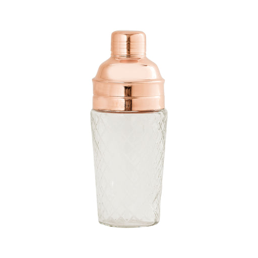 626883 Coppersmith Cocktail Shaker Clear, Copper