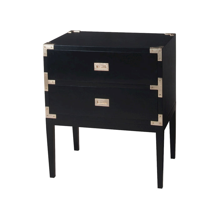 6416503 Grain De Bois Two Drawer Chest Grain De Bois Noir