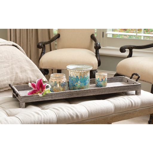644542 Ashwood Long Tray Ashwood, Rustic