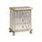 64702 Celeste Chest Gold, Hand-Painted, Silver