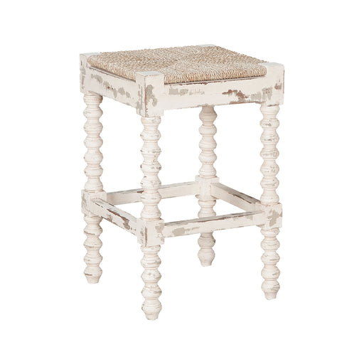 665003CEW Crossroads Counter Stool - Crossroads European White Crossroads European White