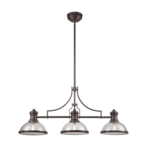 ELK Lighting 66535-3 Chadwick 3 Billiard/Island Oil Rubbed Bronze Oil Rubbed Bronze Free Parcel Delivery