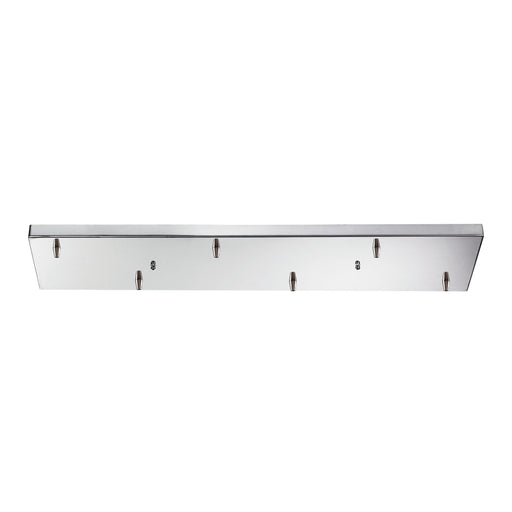 ELK Lighting 6RC-CHR 6 Light Rectangular Pan In Chrome Polished Chrome Free Parcel Delivery