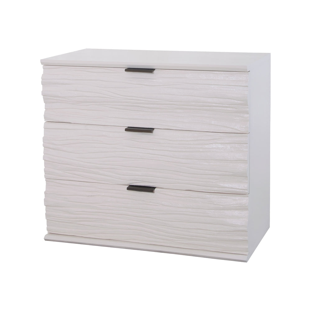 7011-1053 Shale 3 Drawer Chest Cappuccino Foam