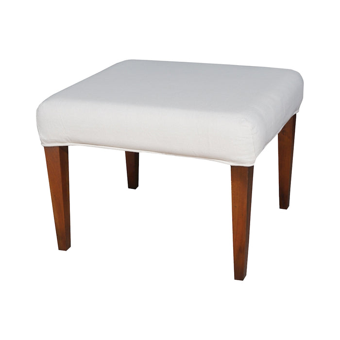 7011-120-E Couture Covers Single Bench Cover - Pure White Pure White