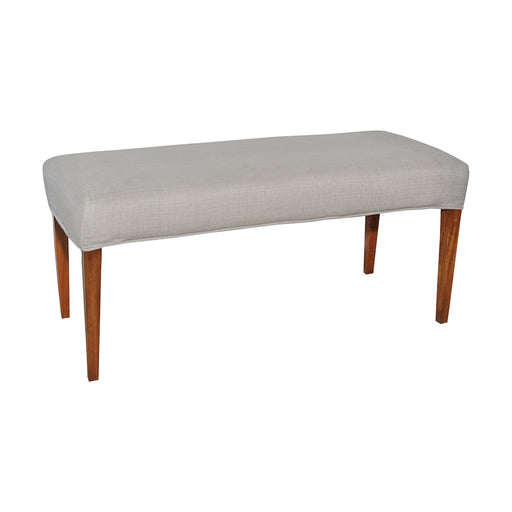 7011-121-C Couture Covers Double Bench Cover - Light Grey Light Grey