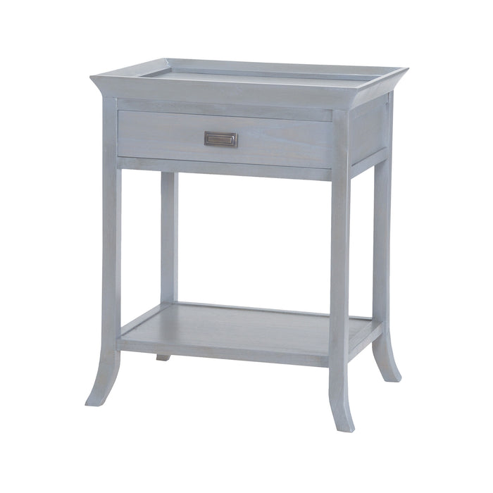 7011-312 Tamara Accent Table In Gravesend Grey Gravesend Grey