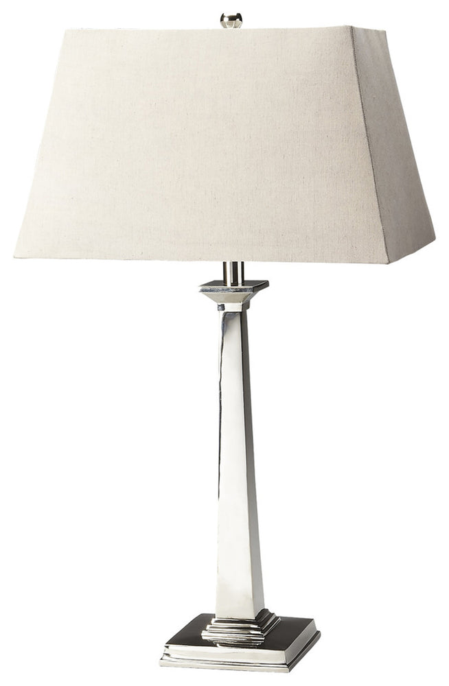 Joanne Silver Table Lamp