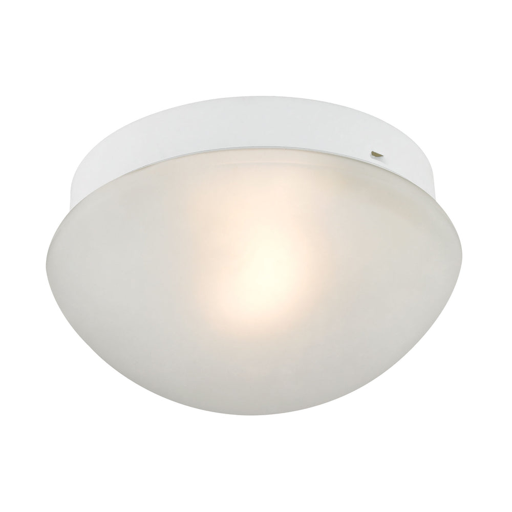 Thomas Lighting 7351FM/40 1 Light Mushroom In White White