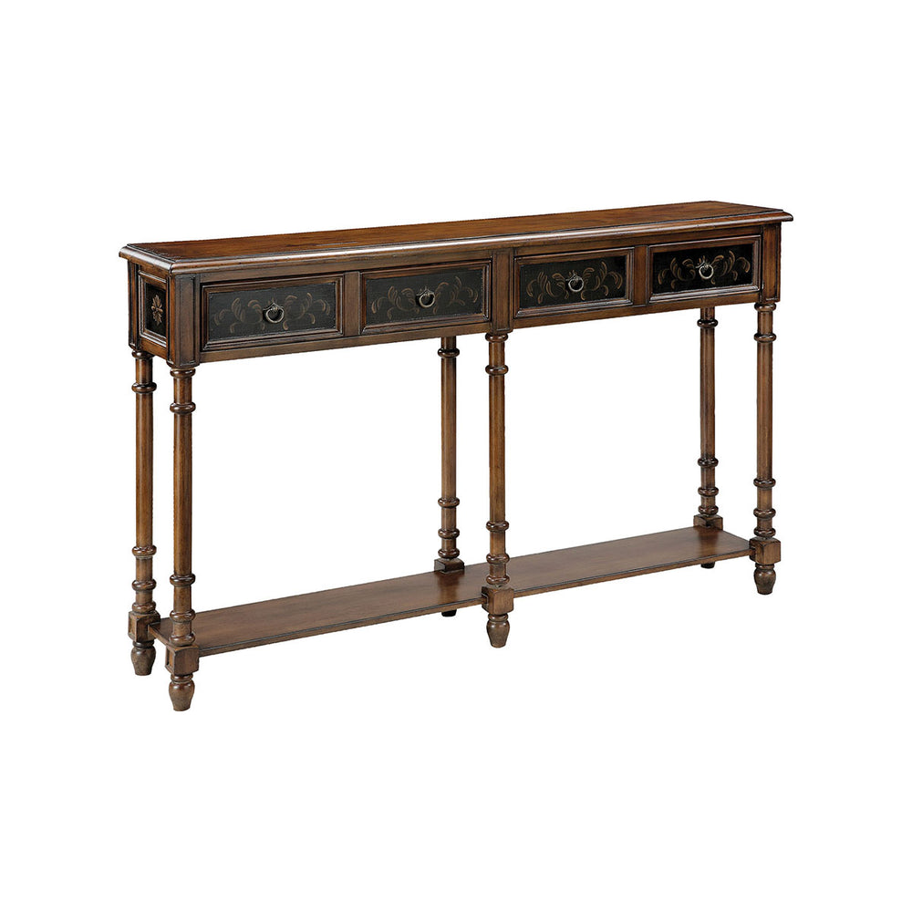 75782 Taylor Console Table Distressed