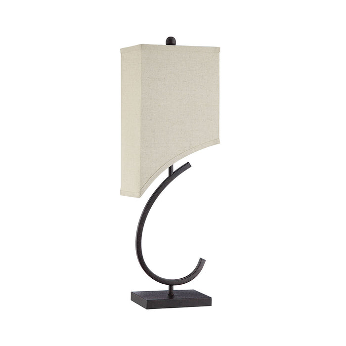 76054 Chastain Table Lamp Brown