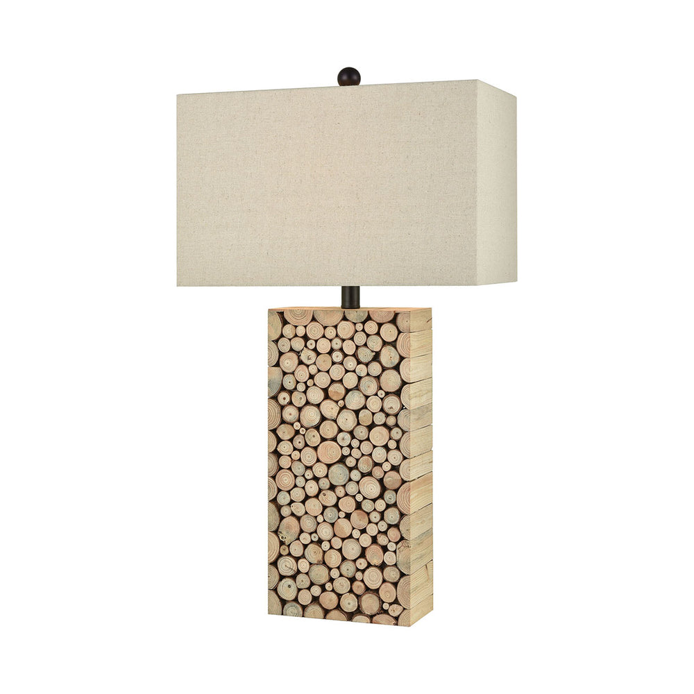 76099 Clearcut Table Lamp Brown