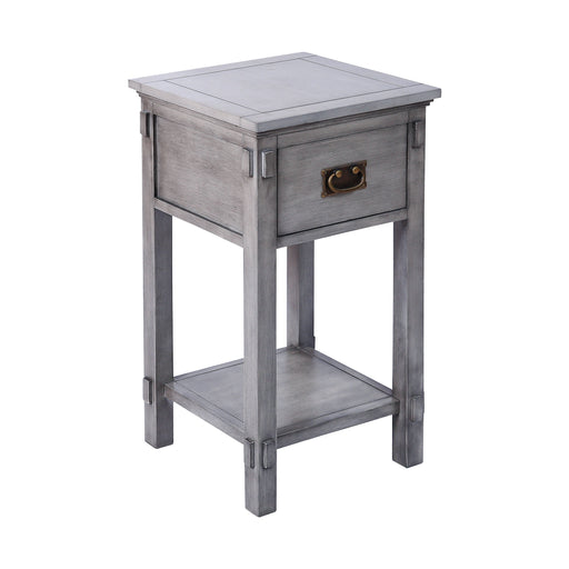 76311 Cheboygan Accent Table Grey