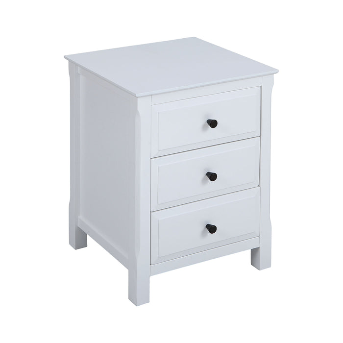 76332 Pierpont Accent Table White