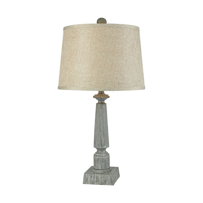 77014 Trice Restoration Grey Table Lamp Restoration Grey