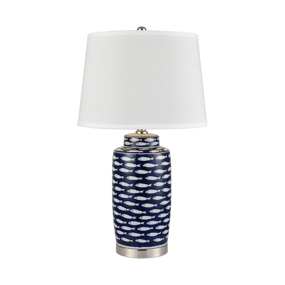 77026 Azul Baru Table Lamp Brown