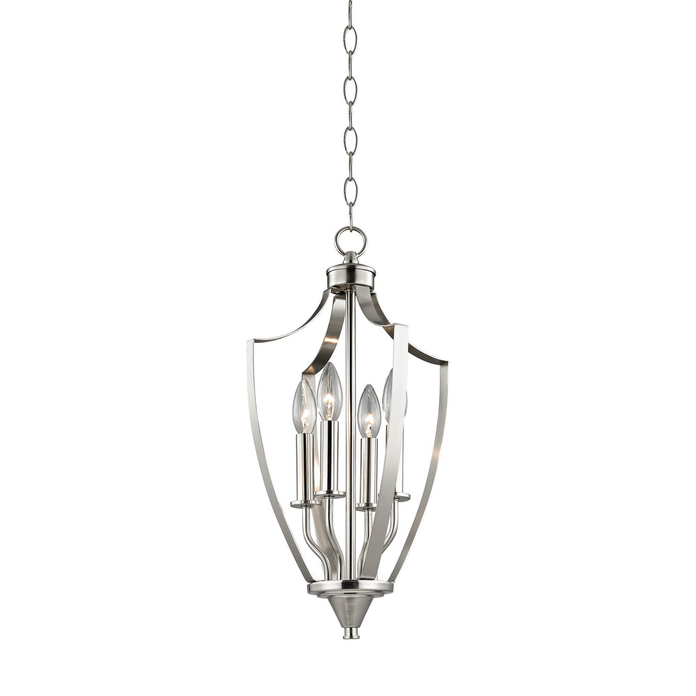 Thomas Lighting 7704FY/20 Foyer 4 Light Mini Pendant In Brushed Nickel Brushed Nickel
