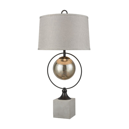 77081 Front Royal Table Lamp Concrete, Bronze