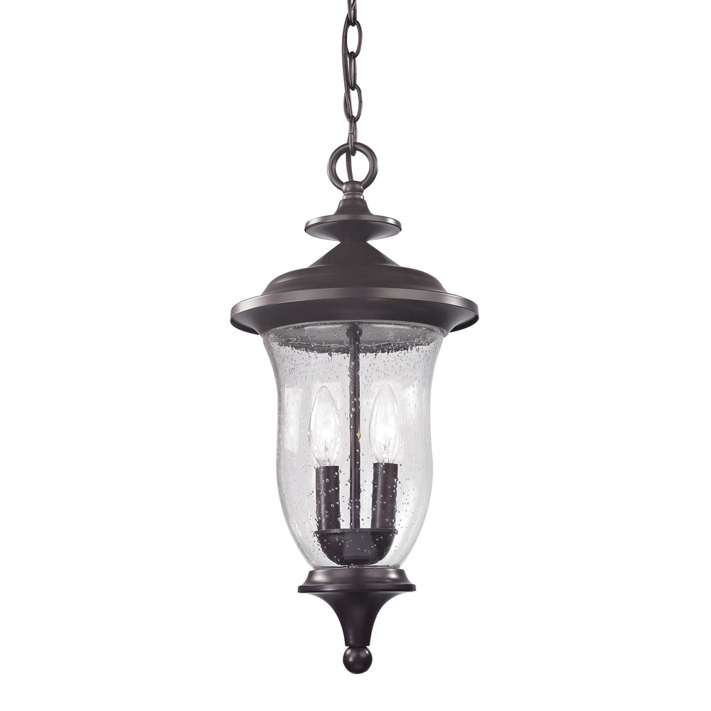 Thomas Lighting 8002EH/75 Trinity 2 Light Pendant Lantern In Oil Rubbed Bronze - Medium Oil Rubbed Bronze