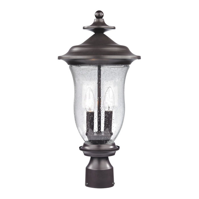 Thomas Lighting 8002EP/75 Trinity 2 Light Post Mount Lantern In Oil Rubbed Bronze - Medium Oil Rubbed Bronze