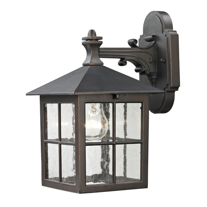 Thomas Lighting 8201EW/70 Shaker Heights 1 Light Coach Lantern In Hazelnut Bronze - Small Hazelnut Bronze