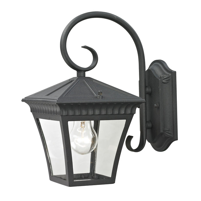 Thomas Lighting 8401EW/65 Ridgewood 1 Light Coach Lantern In Matte Textured Black - Small Matte Textured Black