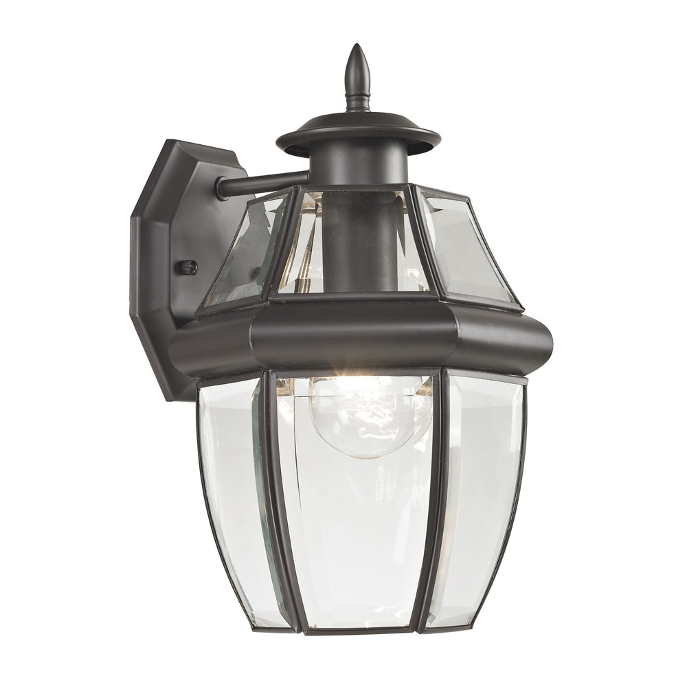 Thomas Lighting 8601EW/75 Ashford 1 Light Coach Lantern In Oil Rubbed Bronze - Small Oil Rubbed Bronze