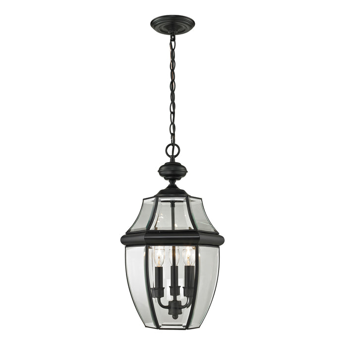 Thomas Lighting 8603EH/60 Ashford 3 Light Hanging Lantern In Black - Large Black