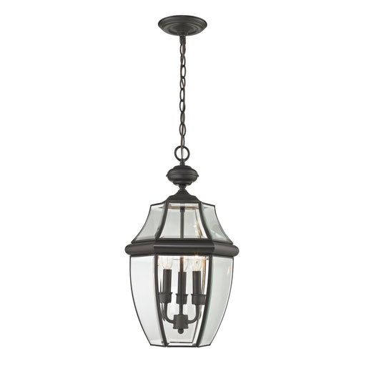 Thomas Lighting 8603EH/75 Ashford 3 Light Hanging Lantern In Oil Rubbed Bronze - Large Oil Rubbed Bronze