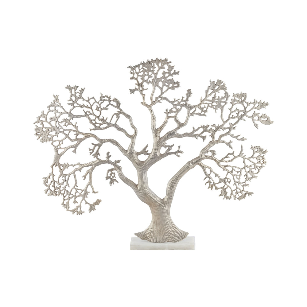 8903-066 Kamakura Tree Sculpture Champagne Gold