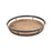 8983-060 Narragansett Tray Bronze, Natural Mango Wood