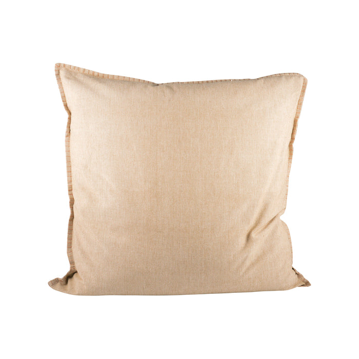 902178 Chambray 24 X 24 Pillow Sand - Cover Only Sand