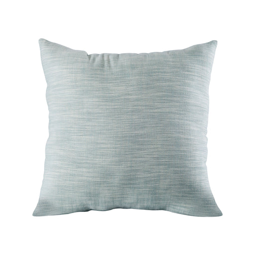 905445 Chambray 24 X 24 Pillow Cool Waters