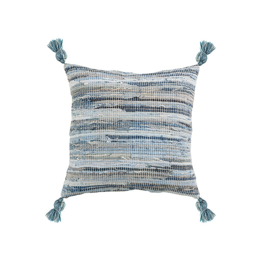 906930 Bayridge 20 X 20 Pillow - Cover Only Rustic Blues