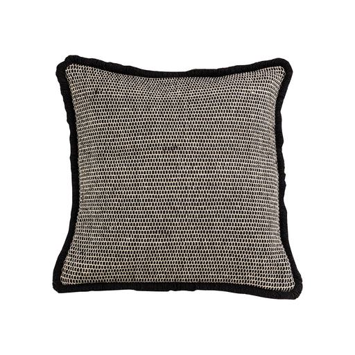 906985 Brittmire 20 X 20 Pillow - Cover Only Greystone, Black