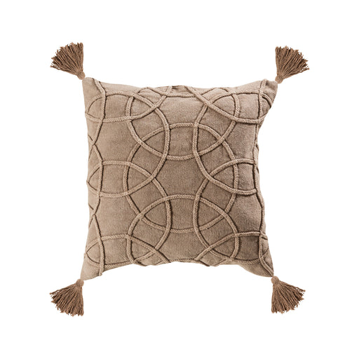 907869-P Centre 20 X 20 Pillow - Cover Only Taupe