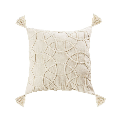 907876-P Centre 24 X 24 Pillow - Cover Only White