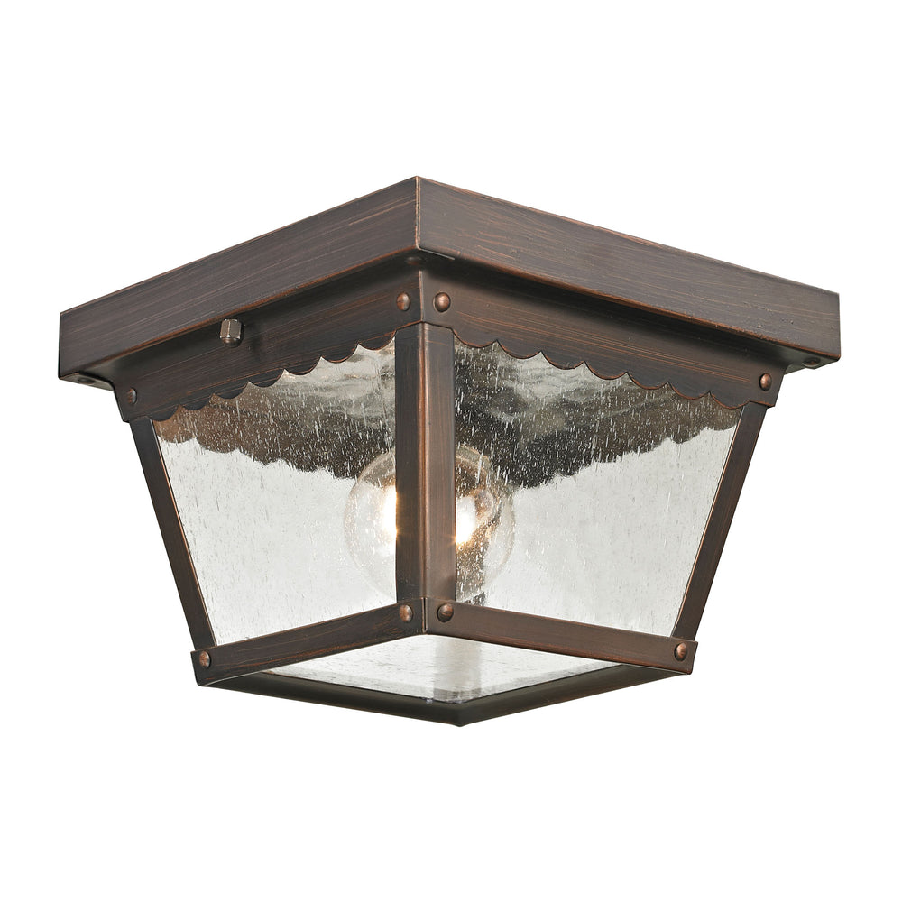 Thomas Lighting 9102EF/70 Springfield 2 Light Flush Mount In Hazelnut Bronze Hazelnut Bronze