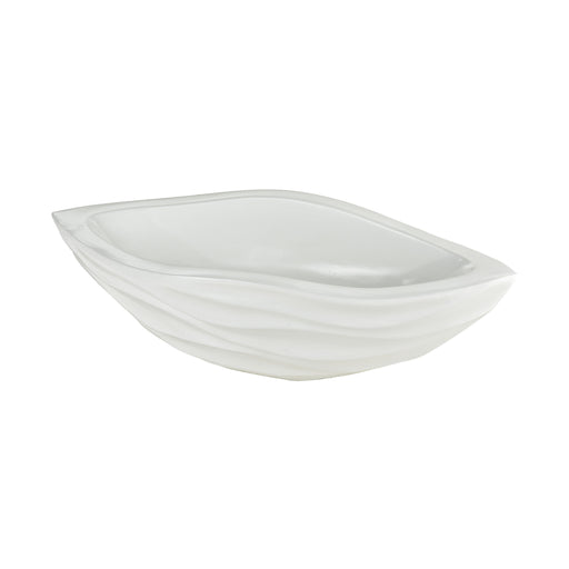 9166-079 Balm White Bowl Gloss White