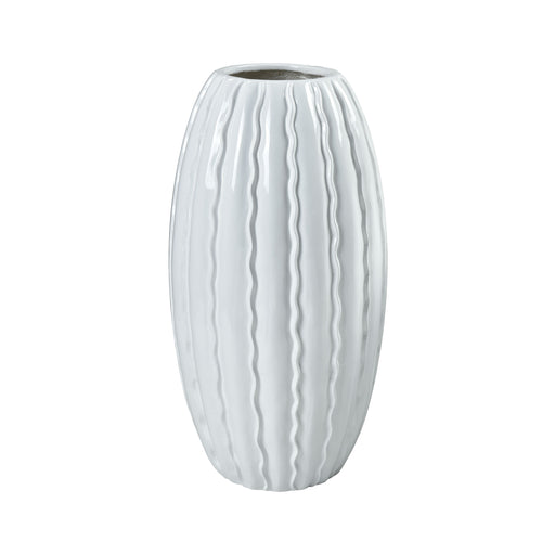 9166-084 St. Croix Vessel Gloss White