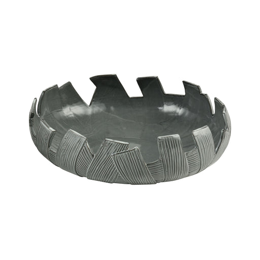 9167-067 Crux Ceramic Bowl Grey Glaze