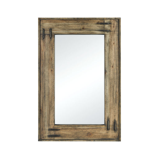 917721 Gerrard Rectangle Mirror Smoked Aspen