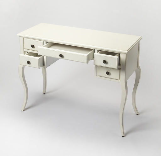 Alicia Cottage White Writing Desk