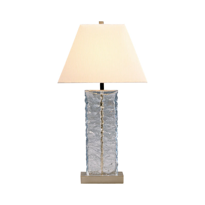 97315 Astoria Table Lamp Brushed Steel