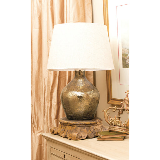 980602 Baroness Lamp Large Antique Sand Artifact, Sandstone