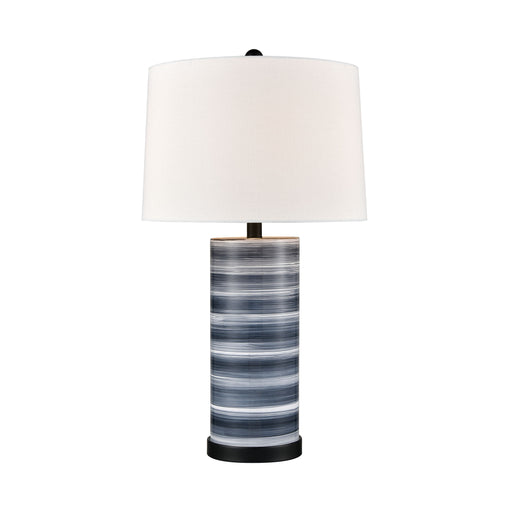 981685 Santos Lamp Blue, Black, Off White